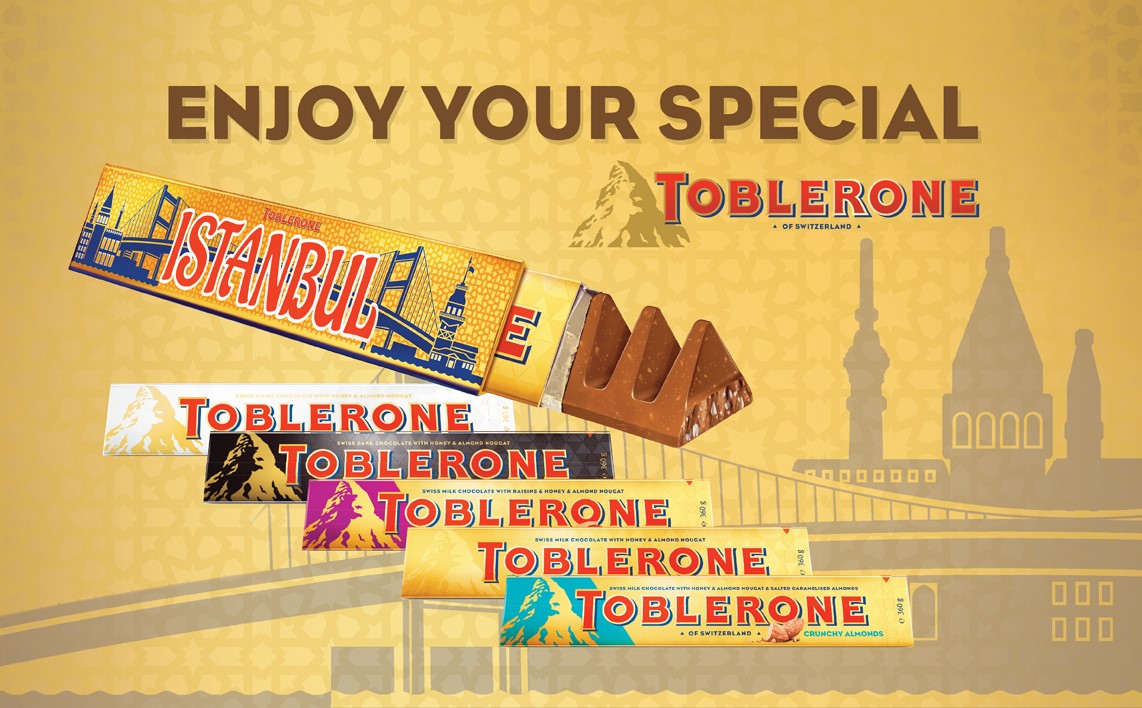 Enjoy Your Special Toblerone!